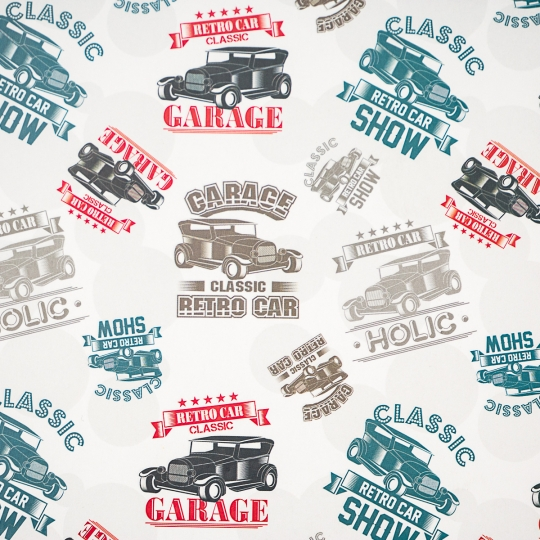 "Упаковочная бумага ""Garage"" (8418-002)"