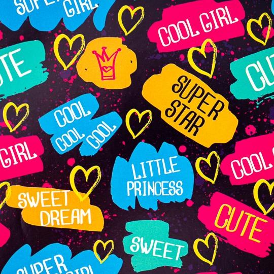 """Упаковочная бумага """"Cool Girl"""" (8418-009)"""