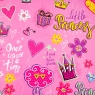 """Упаковочная бумага """"Little Princess 2"""" (8418-019)"""