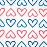 "Упаковочная бумага ""Hearts"" (8418-022)"