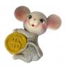 """Магнит """"Мышка с монетой"""" (014NK)"""