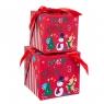 """Набор из 2 коробок """"Новый год""""    15*15*15 (8210-005)"""