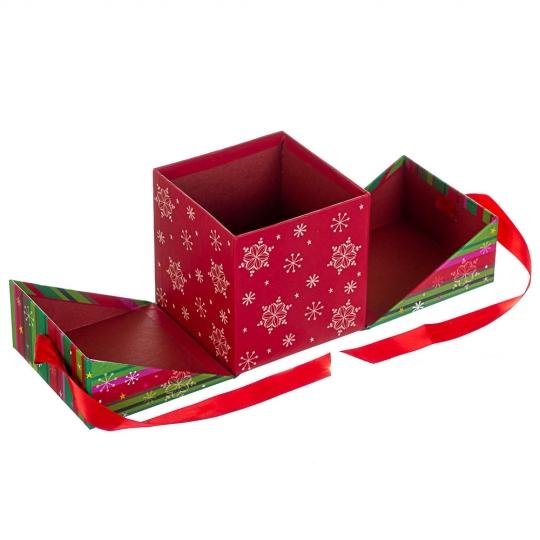 """Набор из 2 коробок """"Веселых праздников""""   15*15*15 (8210-006)"""