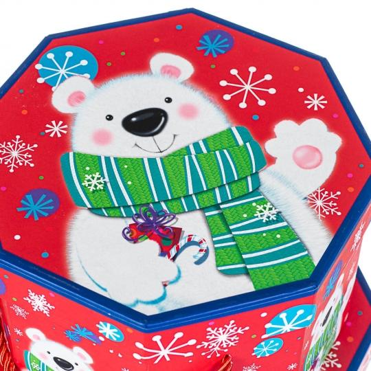 "Набор из 3 коробок ""Медвежонок""   22*22*16 (8210-008)"