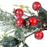 Еловый венок с красными плодами (002NT/red)