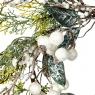 Венок кипарисовый с белыми ягодами (004NT/white)