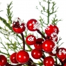 Ветка новогодняя с шишкой (008NT/sam)