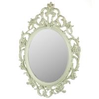 Настенное зеркало 59x84. Цвет - мятный