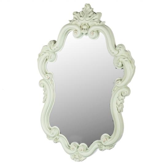 Настенное зеркало 55.5X78.5. Цвет- мятный