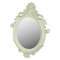 Настенное зеркало 55.5X78.5. Цвет - мятный