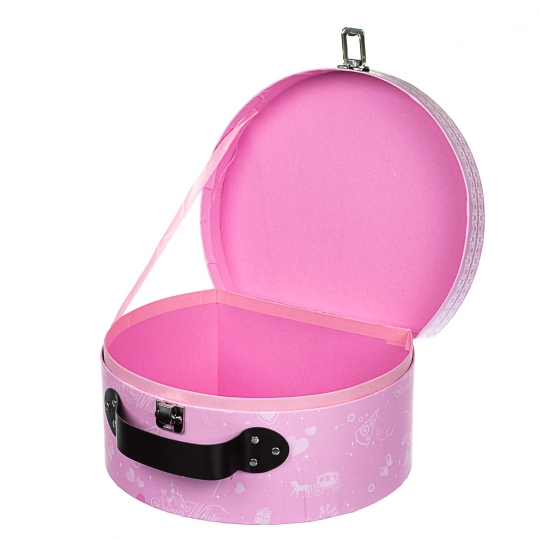 """Подарочная коробка """"Сундучок"""",  розовая (8429-005)"""