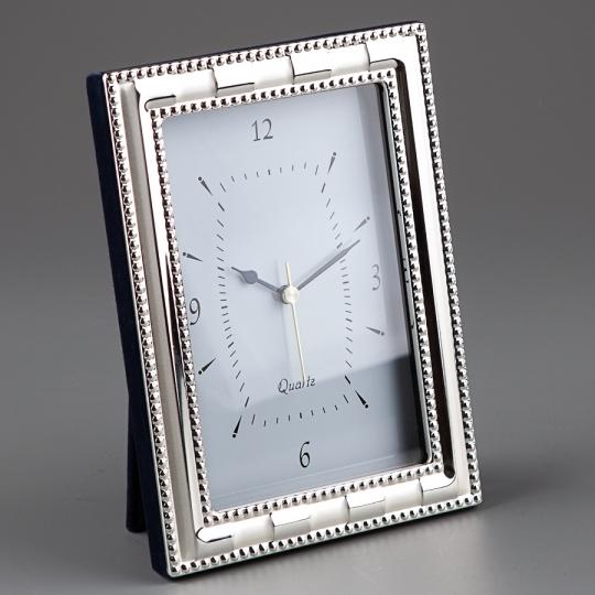 """Часы-фоторамка """"Капельки"""" (22*17 см, ф - 13*18 см) (029B)"""