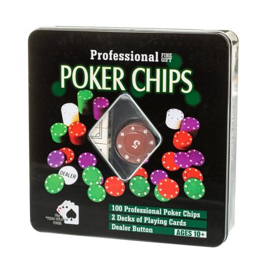 Игровой покерный набор (8718-012)