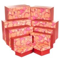 """Набор коробок """"Влюбленность"""", 25х15х32 (10 шт)"""
