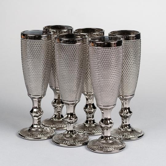 """Бокал для шампанского """"Жемчуг"""" (8602-010)"""