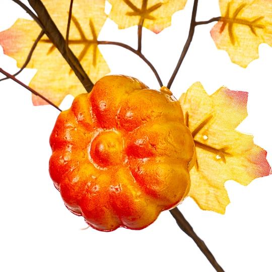 Ветка с тыквами и красными ягодами (030NT/sam)