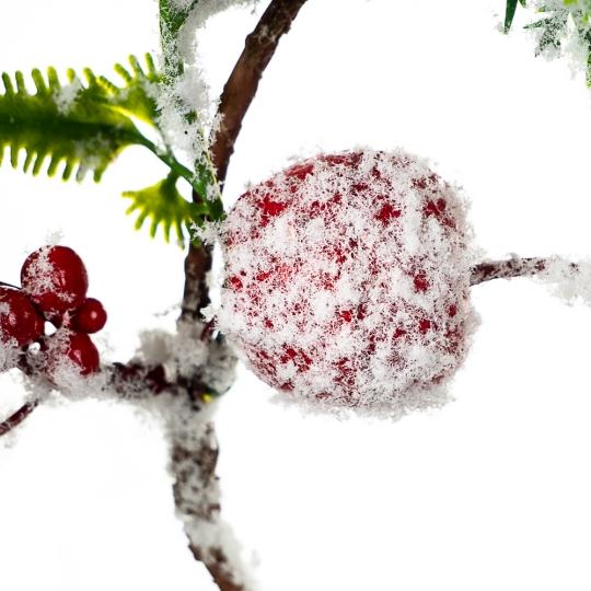 Венок ягодный в снегу (032NT/sam)