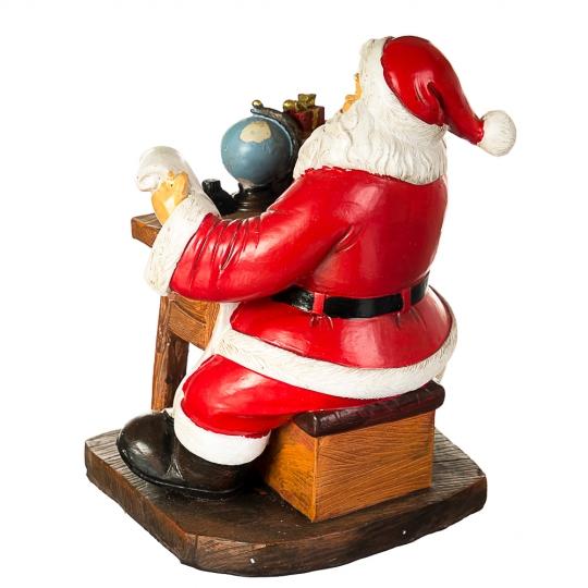 """Фигурка """"Санта пишет письмо"""" (002UW)"""