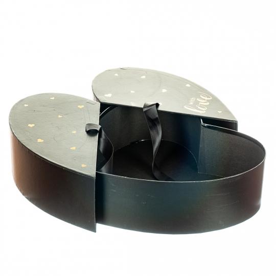 """Коробка """"Влюбленность"""" (black) (018YA-bk)"""