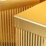"""Набор коробок """"Сияние"""", прямоугольные  (gold) (019YA-gd)"""