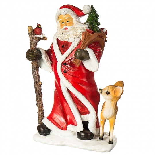 "Фигурка ""Дед Мороз в лесу"" (008UW)"