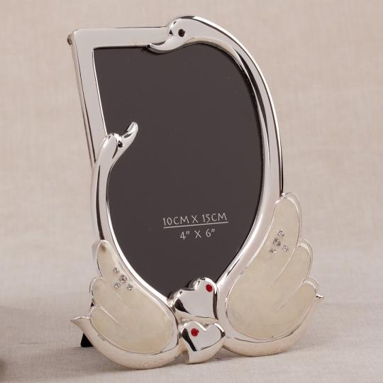 "Фоторамка ""Лебеди"" (15*19 см) (079N)"