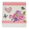 "Шкатулка ""Бабочки и розы"" (0501-002)"