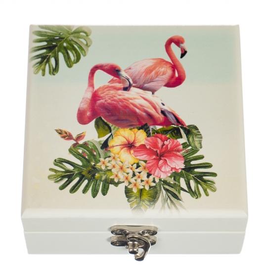 "Шкатулка ""Фламинго"" (0501-001)"