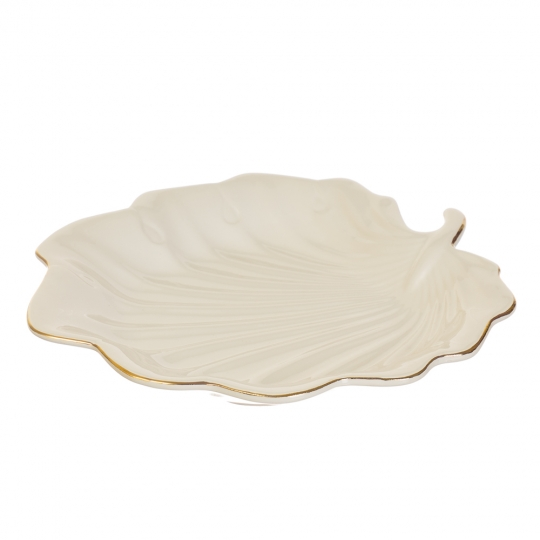 """Блюдо """"Белый лист"""" (4001-003)"""
