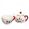 Чайник и чашка с гномами (010NG)