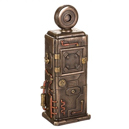 """Статуэтка-часы """"Бензоколонка"""" (29см) (77285A4)"""