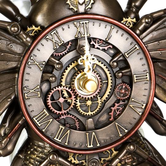 """Статуэтка-часы """"Пчела"""" (21см) (77408A4)"""