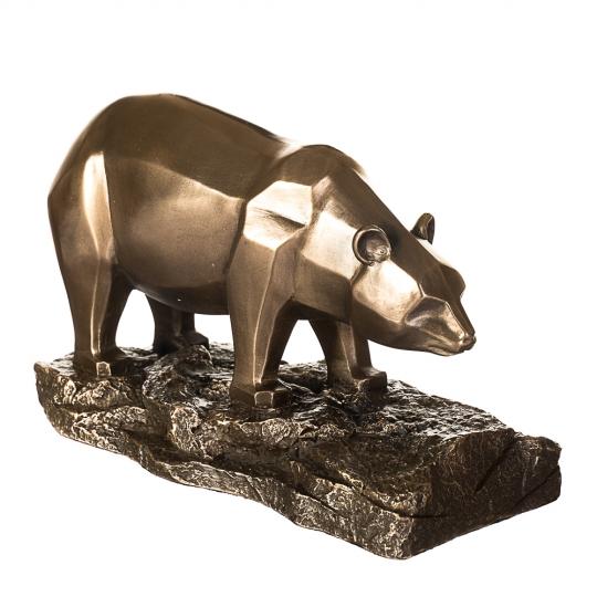 """Набор статуэток """"Бык и медведь"""" (10см) (77487Y1)"""