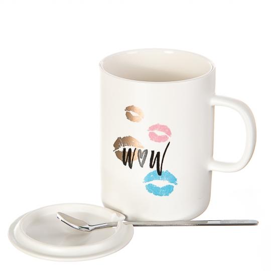 Чашка Love *рандомный выбор дизайна (0523JH)