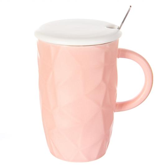 Чашка полигональная *рандомный выбор дизайна (0524JH)