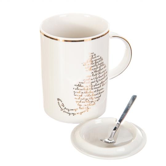Чашка Буквенный кот *рандомный выбор дизайна (0526JH)