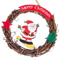 """Новогодний венок """"Счастливого Рождества"""""""
