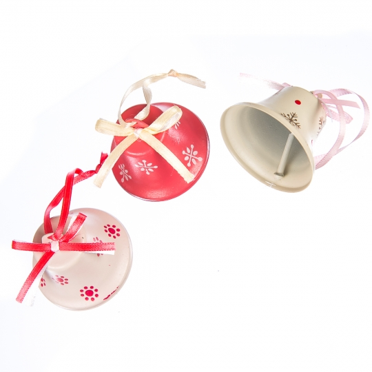 """Комплект елочных игрушек """"Новогодние колокольчики"""""""