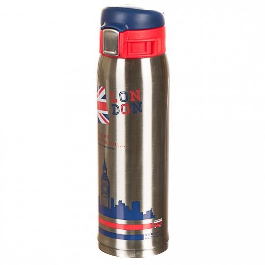 """Термос металлический, серия """"United Kingdom"""", 450мл *(рандомный выбор дизайна) (0569J)"""
