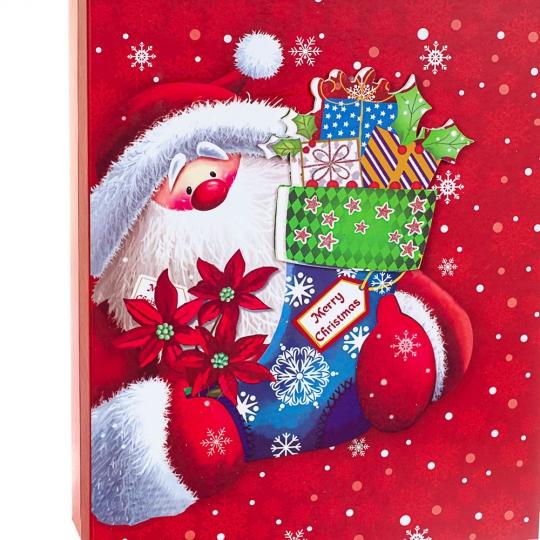 """Набор из 3 коробок """"Санта""""   39*30*11 (8211-033)"""