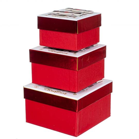 "Набор из 3 коробок ""Сладости""   13*13*8 (8211-043)"