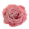 Цветок снежная роза красная (6008-013)