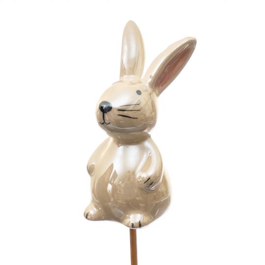 Топер Веселый кролик белый 25/7см (4000-011)