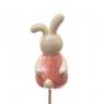 Топер Веселый кролик розовый 25/7 см (4000-012)