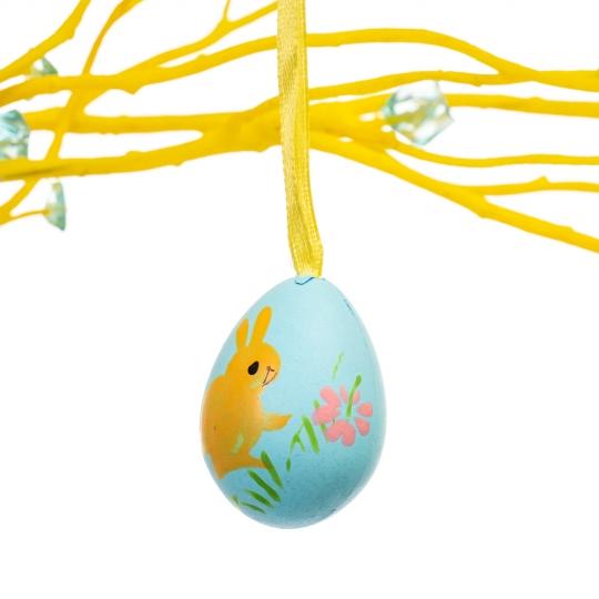 Крашенки декоративные разноцветные 12 шт (4*3 см) (5001-005)