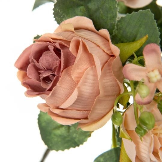 Букет роз, фиолетовый (8722-012)