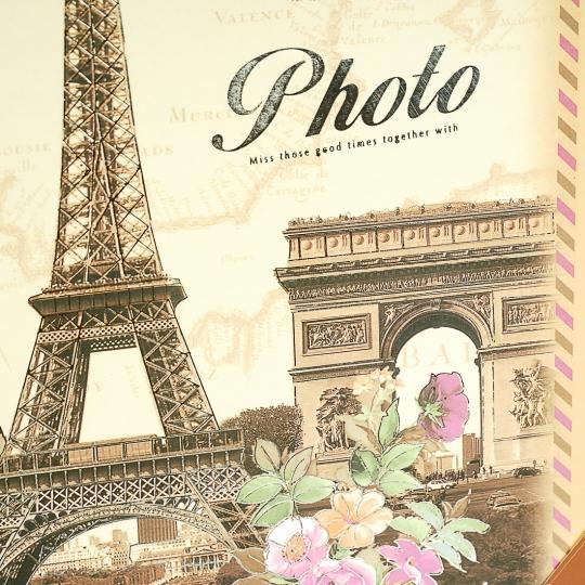 """Фотоальбом """"Цветы в Париже"""" (13*18, 200шт) (0207J/D)"""