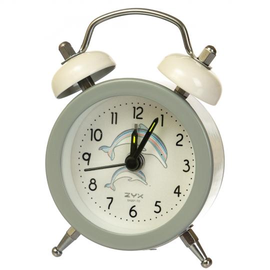 """Часы-будильник  """"Дельфины"""" (рандомный выбор дизайна) (011AK)"""