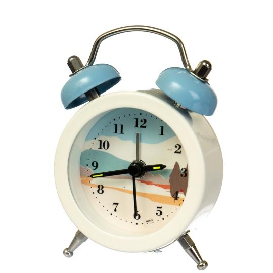 """Часы-будильник  """"Иллюстрация""""  (рандомный выбор дизайна) (013AK)"""