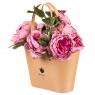 """Коробка для цветов """"Грациозность"""" (кремовый цвет) 1шт."""